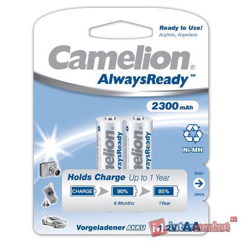 Аккумуляторы Camelion AlwaysReady