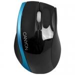 Мышь Canyon CNR-MSO01BL Black-Blue USB