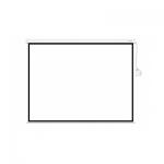 Экран моторизированный (с пультом Д/У), Deluxe, DLS-ERC240x180W, Настенный/потолочный, Рабочая поверхность 232174 см., 4:3, Matt white, Белый