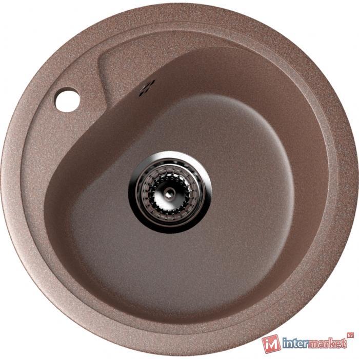 Мойка круглая ES 10 307 (терракот)