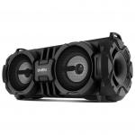 Портативная акустика SVEN PS-485, черный, акустическая система 2.0, мощность 2x14 Вт (RMS), Bluetooth, USB, microSD /