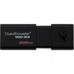 USB Флеш 256GB 3.0 Kingston DT100G3/256GB черный