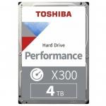 """Жесткий диск HDD 4Tb TOSHIBA X300 SATA 6Gb/s 7200rpm 256Mb 3,5"""" HDWR440UZSVA, Разработан специально для вашего рабочего или игрового компьютера,"""